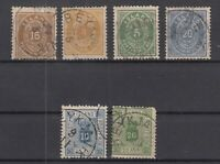 AT5497/ ICELAND – 1876 / 1882 USED CLASSIC LOT – CV 210 $