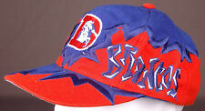 Vtg Denver Broncos Hat-Blue Orange-Snap Back-NFL Football-Drew Pearson-Zig Zag..