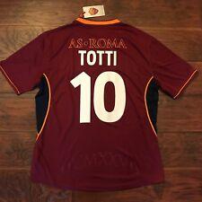 435122e889de6 2013 14 AS Roma Home Training Jersey  10 TOTTI 2XL Kappa Soccer ITALY NEW