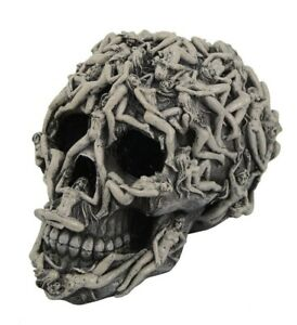 Erotic Skull Figurine Human Bodies Sensual Intimate Home Decoration 5 Inch New