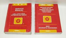 1997 Chrysler Concorde Dodge Intrepid Service And Body Diagnostic Manuals