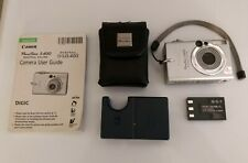Canon PC1038 PowerShot S400 4.0 MP Digital Camera. For parts or Repair