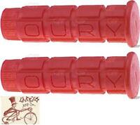 OURY MOUNTAIN RED BMX-MTB BICYCLE GRIPS