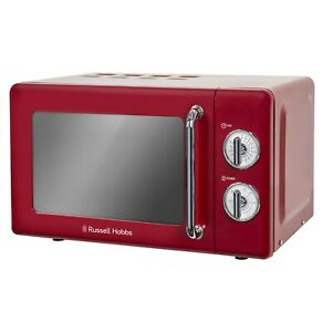 Russell Hobbs RHRETMM705R Retro 17L Microwave Oven - Red