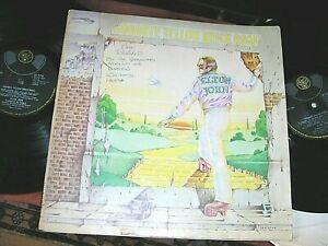 ELTON JOHN  -    Goodbye Yellow Brick Road,      ORIG 1973 UK DOUBLE-LP / inners