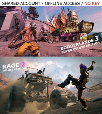 Borderlands 3 & Rage 2 PC Steam OFFLINE - READ DESCRIPTION