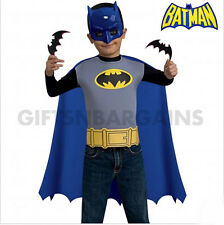 Batman Costume Accessory kit Super hero Mask,Cape, Batarangs Halloween Boys Gift