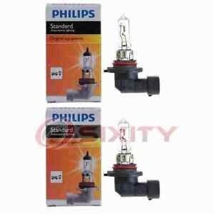 2 pc Philips High Beam Headlight Bulbs for Honda Accord Accord Crosstour fr