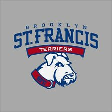 St. Francis NY Terriers #2 NCAA College Vinyl Decal Sticker Car Window Wall