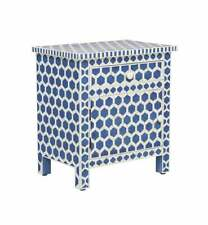 Bone Inlay Bedside Table Home Decor Purpose Attractive Design Beautifully End Ta