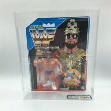 WWF Hasbro Macho King Randy Savage, Series 2, 1991 Carded Figure-UKG not AFA