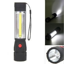 1200LM COB LED Magnetic END Work Light Inspection Flashlight 4 x AA Lamp Torch
