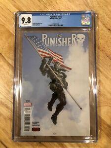 Punisher #224 CGC 9.8  Clayton Crain War Machine Armor - Perfect for Signature