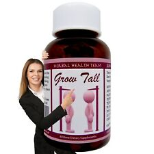 Top Bone Growth Pills BE TALLER SAFELY Grow between 1 - 6 inches | One Bottle GT