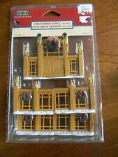 Lemax Village Christmas Collection Craftsman Fence Gate - Set of 5 - NIP