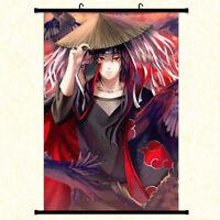 Japan Anime Naruto Uchiha Itachi Painting Home Decor Poster Wall Scroll 40x60cm