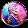 """1909 P Lincoln Wheat Penny Cent- """"Beautiful Toning"""" SUPERB GEM HIGH GRADE #07"""