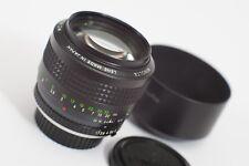 Minolta 85mm f/1.7 - MC Rokkor SR Mount - Sony E