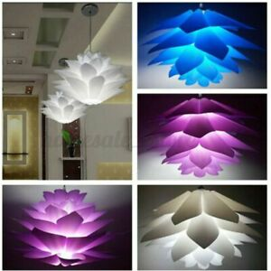 2Pcs 50cm Modern Pendant Chandelier IQ Puzzle Jigsaw Light Shade Lampshade