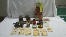 Vintage Fishing Reels, Flies, & Misc Lot, Shakespeare