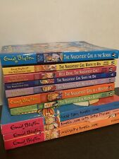 Lot of 10 ENID BLYTON Chapter Books ~  Naughtiest Girl Softcover