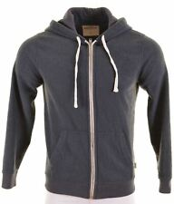 HOLLISTER Mens Hoodie Sweater Small Grey Polyester  FV06