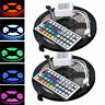 2pc 5050 RGB SMD 5M 300 LED Waterproof Change Color 12V Light Strip 44Key Remote