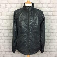 ALPINESTARS MENS UK L BLACK CAMO PRINT WIND BREAKER RAIN JACKET COAT *SAMPLE*