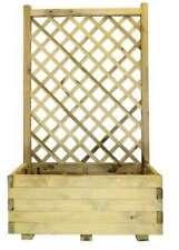 Fioriera con Griglia in legno 80 cm x 40 cm x h 135 cm