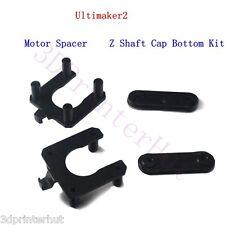 DIY Ultimaker 2 3D Printer Motor Spacer+Z-shaft Cap Bottom kit Injection Molding