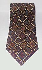 Mens Silk Neck Tie The Metropolitan Museum Of Art Geometric Floral Pattern 100%