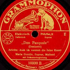 """MARIA GENTILE -Sopran-  """"Don Pasquale"""" Ariette / """"Lucia di Lammermoor""""     S6921"""