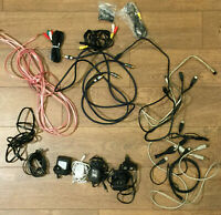 Lot of Miscellaneous MONSTER RCA & Speaker Cables & USB Connectors/Hub/Adapters