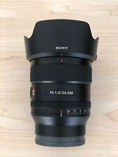 Sony FE 24mm f/1.4 GM Camera Lens +Formatt Hitech Firecrest ND filter set