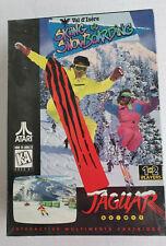 Val D'Isere Skiing & Snowboarding Atari Jaguar Cartridge New J9060E