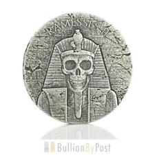 2017 Pharaoh Ramesses II - After Life - 2oz Silver Coin