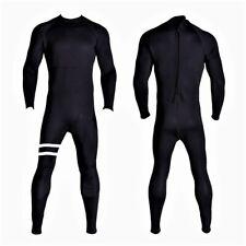 New 5/4/3 Black Back Zippper Wetsuit Neoprene Full Body Back Zip Surf Scuba