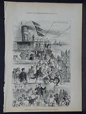 Illustrated London News Full Page B&W S6#43 Apr 1879 En Route to the Zulu War
