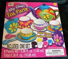 Child's Craft Kit My Own Tea Party New