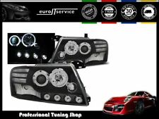 HEADLIGHTS LPMI08 MITSUBISHI PAJERO V60 SUV 2001-2003 2004 2005 2006 ANGEL EYES