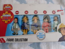 FIREMAN SAM FIGURES  FROM THE FIRST SERIES NEW BOXED SET OF 5,