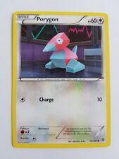 Porygon NOIR ET BLANC Explosion Plasma 72/101 Carte Pokemon Français