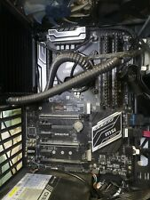 Msi Z270 SLI motherboard and i7-6700 CPU bundle with Corsair H50-1 Water Cooler