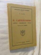 IL CARTESIANISMO Cartesio Malebranche Spinoza E Caird La Nuova Italia 1968 per
