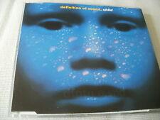 DEFINITION OF SOUND - CHILD - 3 TRACK UK CD SINGLE