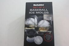 ICe Molds Basball Boxed Set Of 2 Berkshire NEW