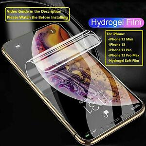 For iPhone 13 Mini 13/13 Pro Max TPU Hydrogel Soft Film Screen Protector