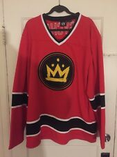 Rare Fall Out Boy Psycho Hockey Jersey 2XL XXL gift Never Worn