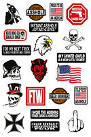 21 Vinyl Decals - Stickers - UV Coated! - For Toolbox, Lunchbox, Hardhat