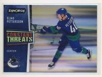2020-21 Synergy Constant Threats #CT13 Elias Pettersson Vancouver Canucks BX3